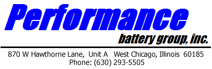 Performance Battery Group logo